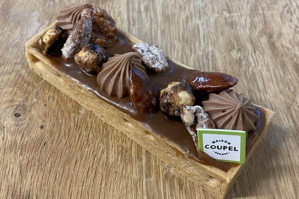 Tarte Caramel Mendiants
